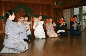 「日本文化理解1」の講義開始